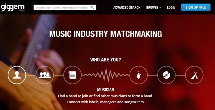 a6 730x374 Music industry matchmakers Giggem introduces Auditions to help bands recruit new members