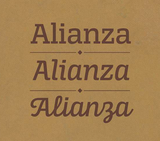 alianza 30 of the most beautiful typefaces released last month