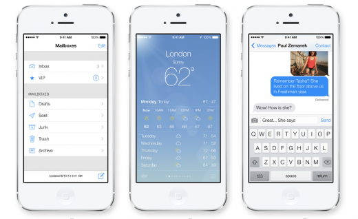 apple shot 2 520x318 5 things to know when converting your app design to iOS 7