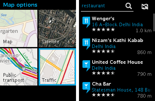 asha2 Nokias HERE Maps lands on the Asha 501, points to ongoing app support for the revamped platform
