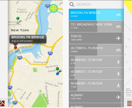 b9 Forget maps, Crowsflight for iPhone will point you in the right direction