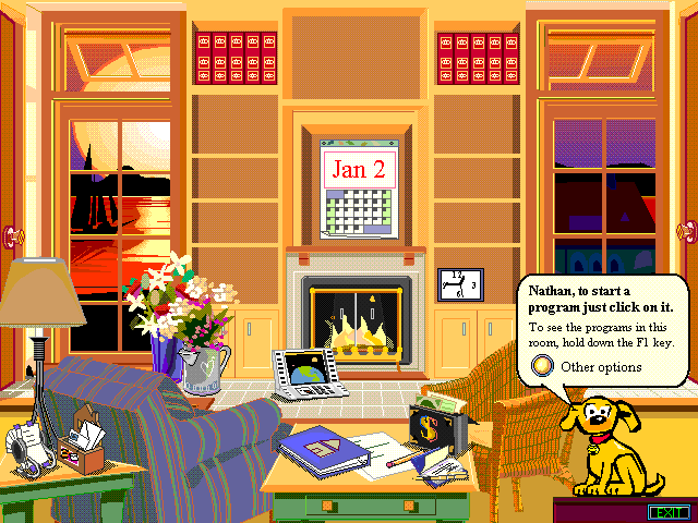 bobhome1p Gates name checks Microsoft Bob, calls the former product premature for its time