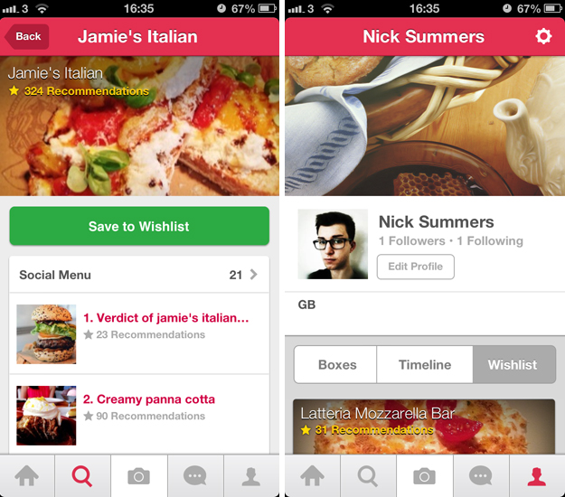 burpple2 Burpple redesigns its foodie photo sharing app, adds Social Menus and Wishlists