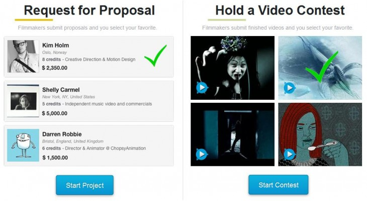 c31 730x401 Cinely helps filmmakers find collaborators, and brands find filmmakers
