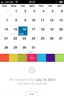 d7 220x330 Dollarbird: A smart calendar app for tracking your income and expenses