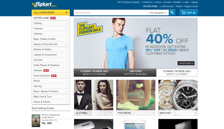 flipkart 730x422 Flipkart, Indias Amazon, raises $200 million in the countrys latest major e commerce deal