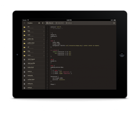 ipad 2 520x434 Codeanywhere raises $600,000 to boost its Google Docs for developers service