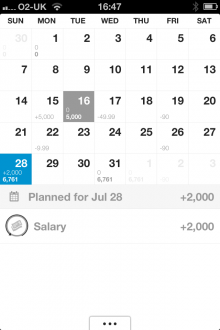 j1 220x330 Dollarbird: A smart calendar app for tracking your income and expenses