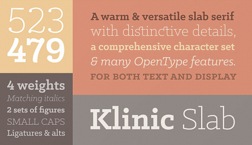 klinic 30 of the most beautiful typefaces released last month