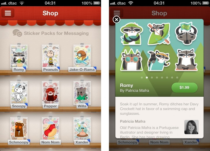 path stickers 730x526 Stickers: From Japanese craze to global mobile messaging phenomenon