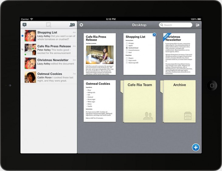 quip desktop 730x562 Ex Facebook CTO Bret Taylors Quip is a word processor to serve today's mobile and desktop needs