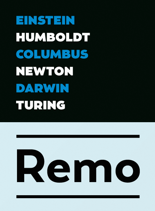remo 30 of the most beautiful typefaces released last month