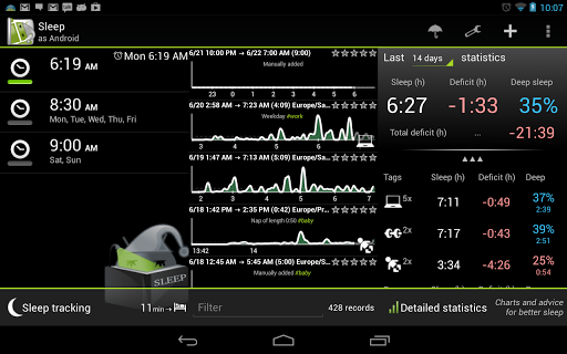 sleep as android Aaaaand relax: 10 apps to help you de stress