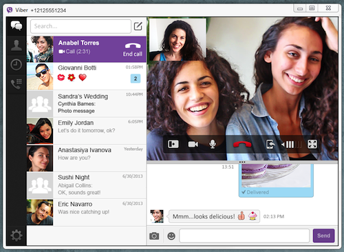 video with listw Viber upgrades desktop and WP8 apps, says the latter sees 500k downloads per month