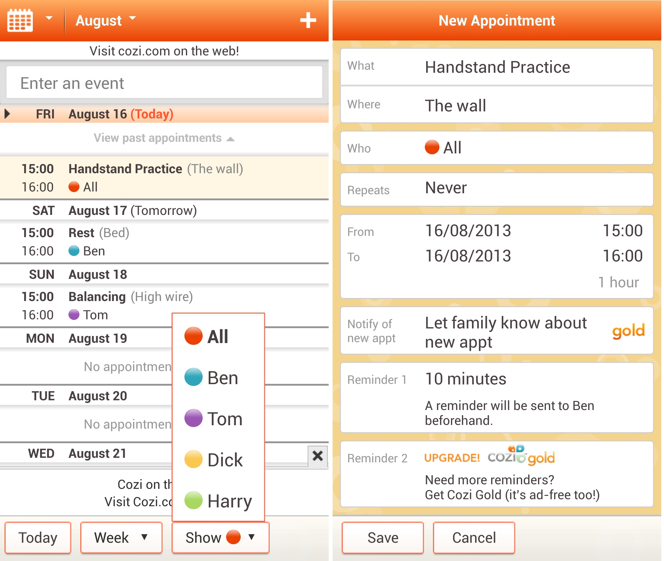 Cozi 12 of the best calendar apps available for your Android smartphone today