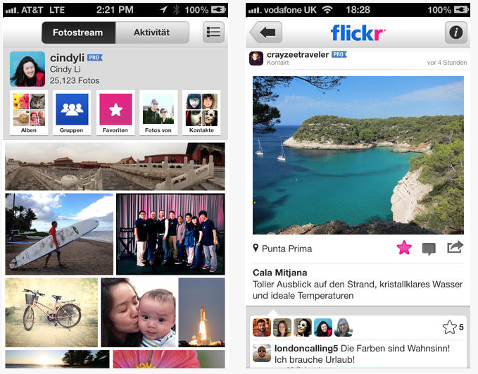 FlickriOS Yahoo updates its Flickr iOS app with new filters and tools to take on the new generation
