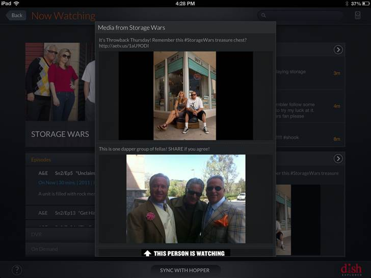 DISH plugs GetGlue into its Explorer iPad app to add check ins and curated content