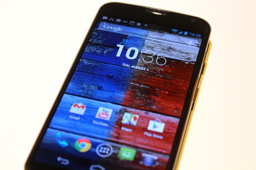 IMG 3073 520x346 Hands on with the Moto X: You wont lust after it, but its a solid smartphone