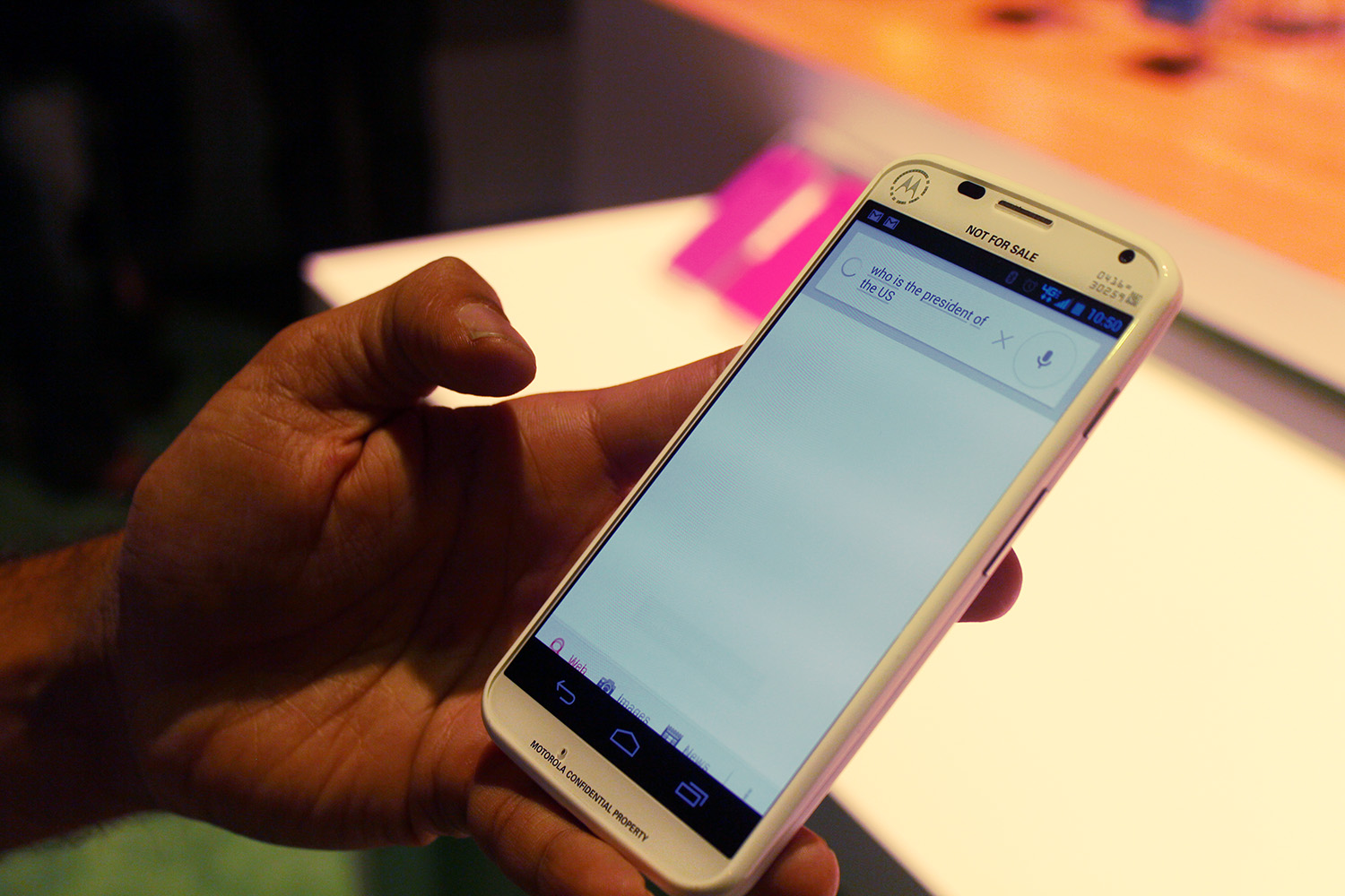 IMG 3105 Hands on with the Moto X: You wont lust after it, but its a solid smartphone