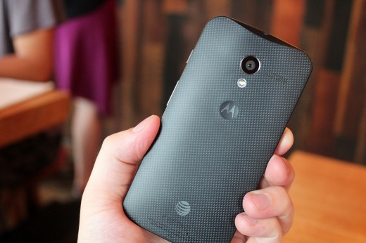 IMG 3148 520x346 Hands on with the Moto X: You wont lust after it, but its a solid smartphone