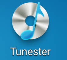 Logo 220x197 Tunester: A minimalist, gesture based music player for Android