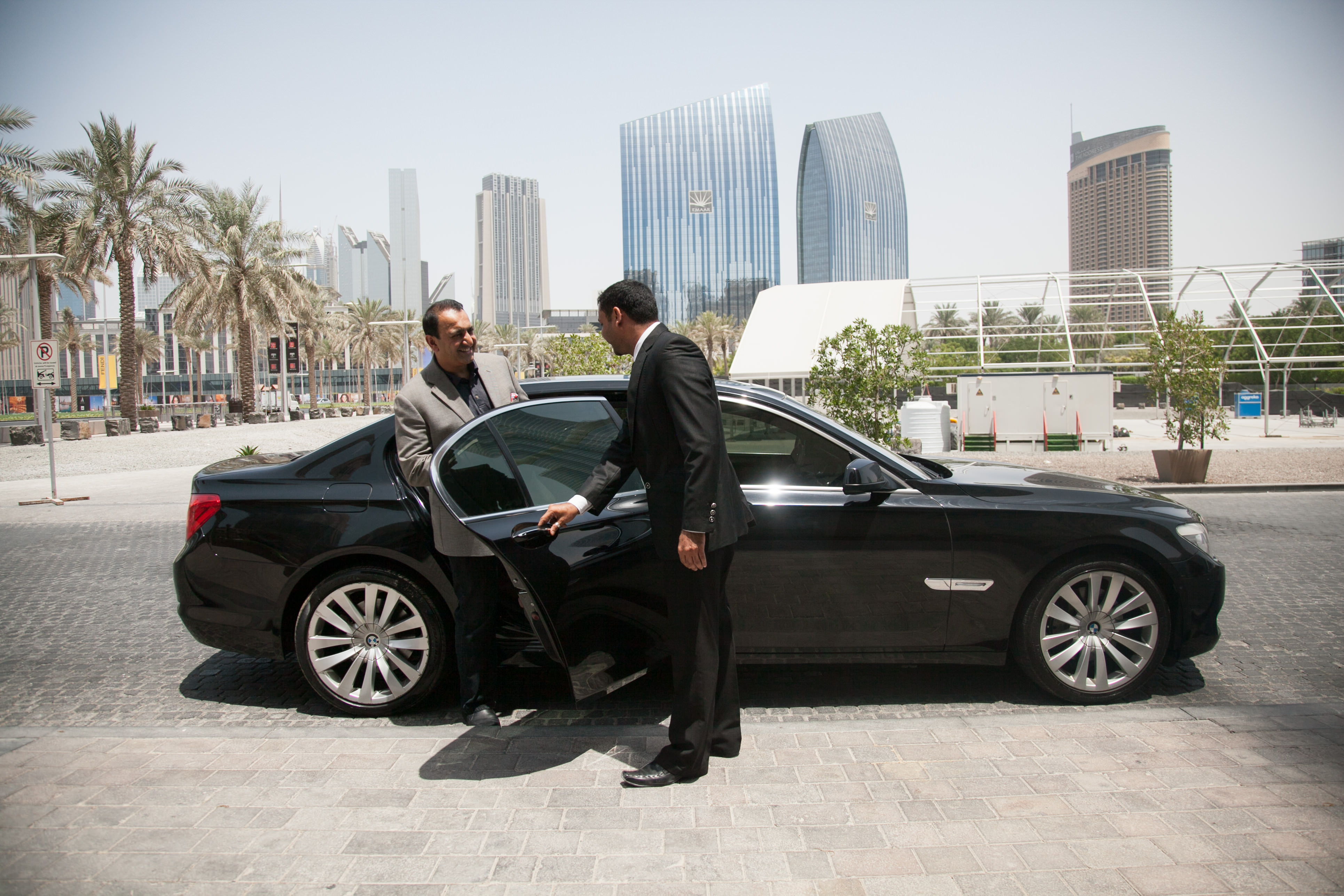 Riz Khan1 Ubers taxi service arrives in Dubai