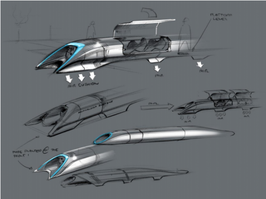 Screen Shot 2013 08 12 at 1.44.56 PM 520x389 Elon Musk reveals first designs for his $10 billion high speed Hyperloop transit system