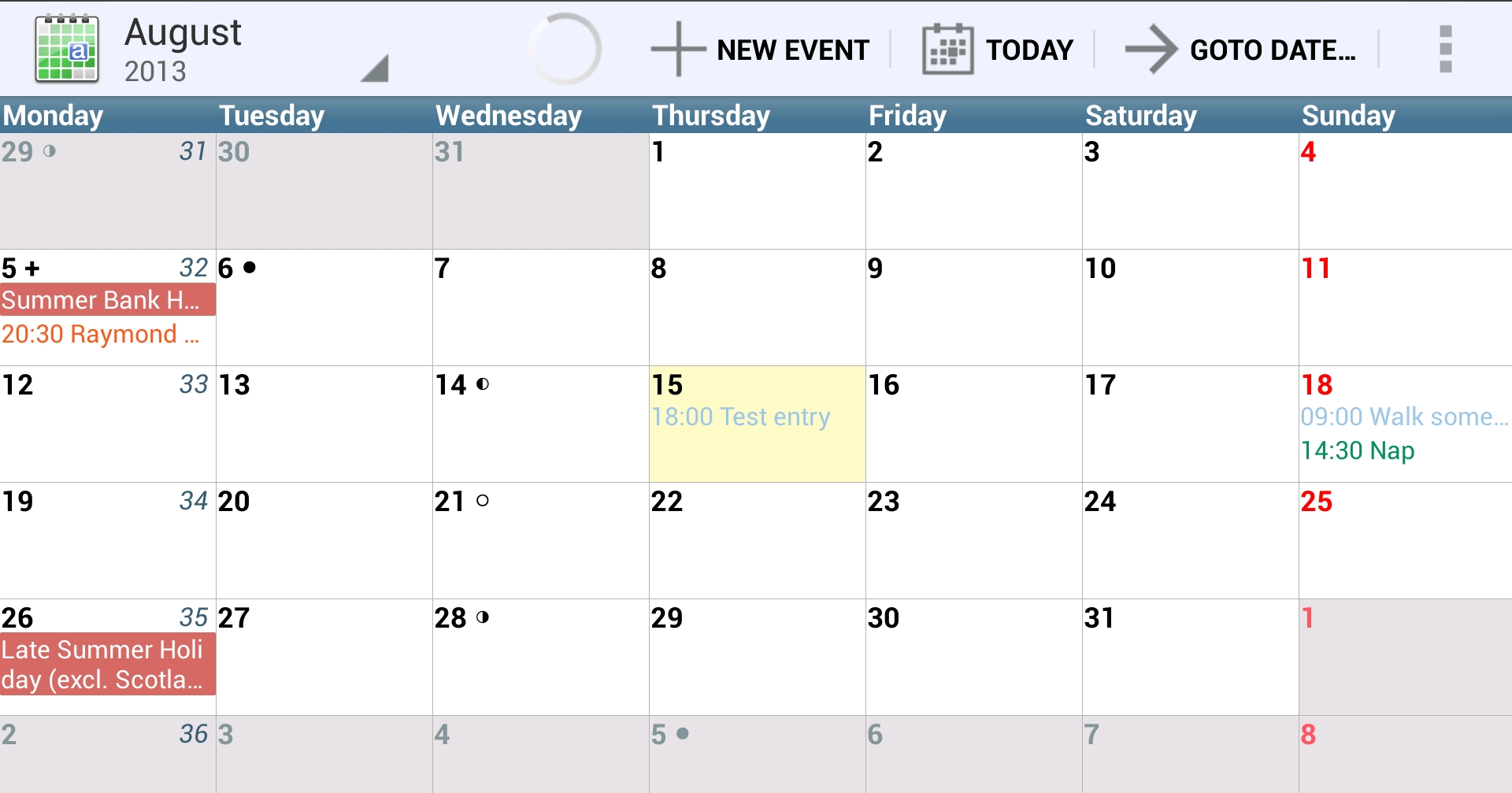 12 of the best calendar apps available for your Android smartphone ...