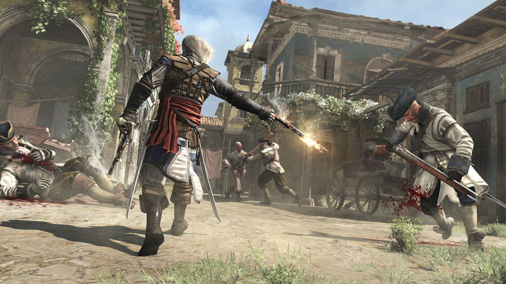 Microsoft and Ubisoft Launch 3D Game Assassin's Creed Pirates