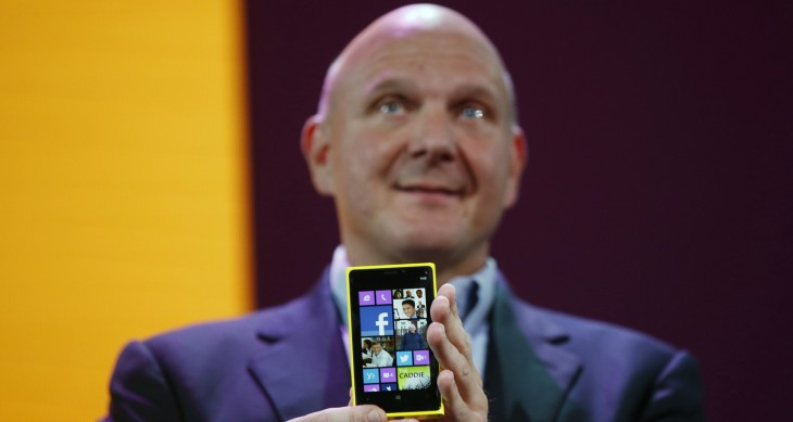ballmer wp8 730x389 Why Microsoft wants to buy Nokias device business