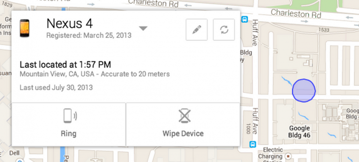 blogpost 730x330 Google announces Android Device Manager coming later this month, an app that helps you find your lost phone