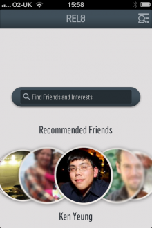 c6 220x330 Rel8 for iPhone helps you know who your Facebook friends really are