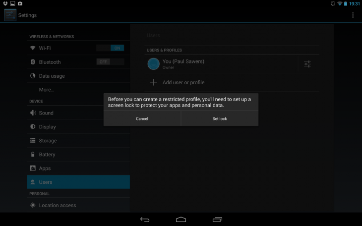 how to change contact profile name in android