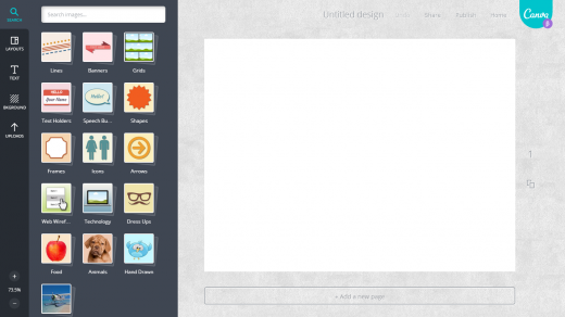 canva2 520x292 Canvas simple and collaborative Web based platform aims to turn anyone into a designer