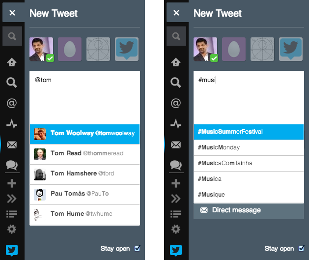 compose9 Twitter revamps TweetDecks New Tweet panel with easier posting, sending DMs, and previewing images