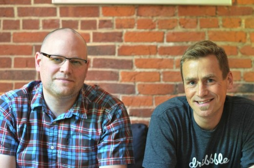 Dribble co-founders Dan Cederholm and Rich Thornett [Photo credit: Samuel Fine]