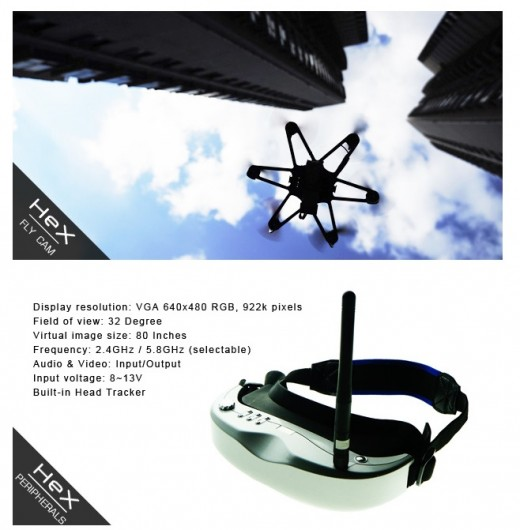 hex 520x530 Hex is a tiny hackable, smartphone controlled copter available for under $40 on Kickstarter