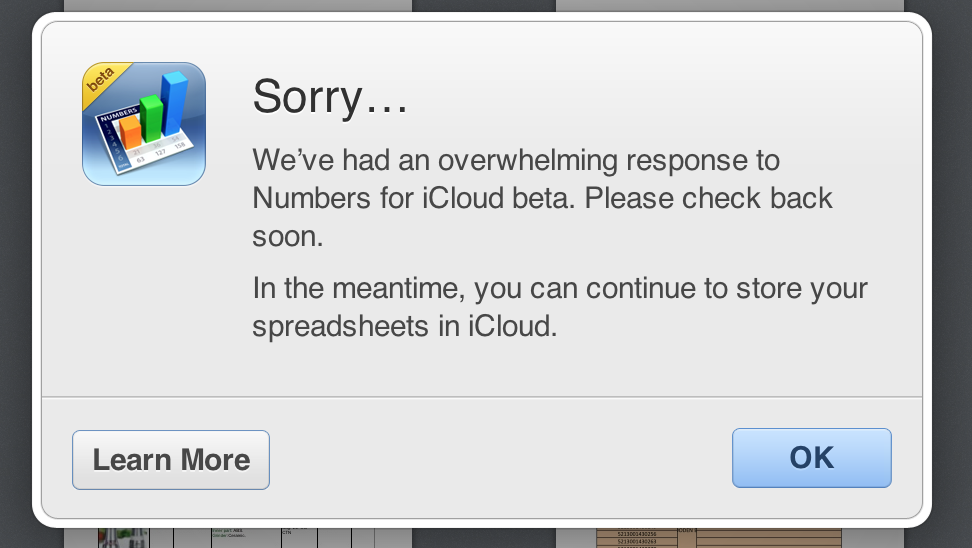 iWorkforiCloud Apple begins restricting access to iWork for iCloud beta due to demand
