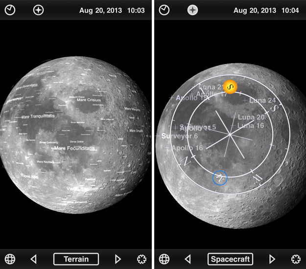 moonglobe1 The final frontier: 10 iOS apps for astronomers, stargazers and amateur space explorers