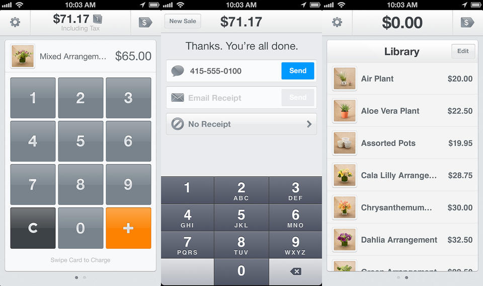 square ios Square for iOS gets payment recording and tracking, cash management and Bluetooth printer support for iPad
