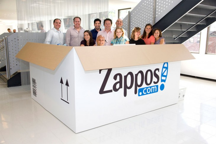 zappos team 730x486 Do lean startup principles have a place in the enterprise?