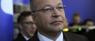 Nokia's President and CEO Stephen Elop a