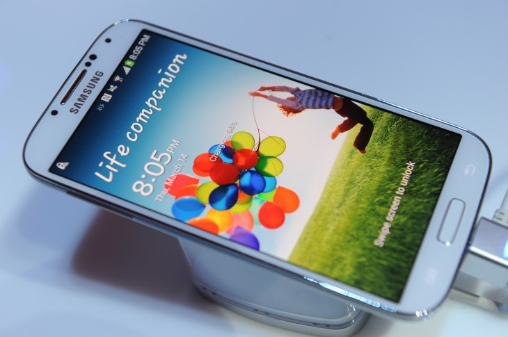163703721 730x485 Samsungs Galaxy S5 smartphone will reportedly launch by April and could include eye scanning tech