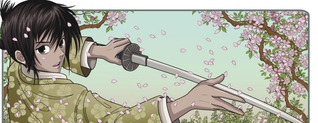 Japanese manga samurai