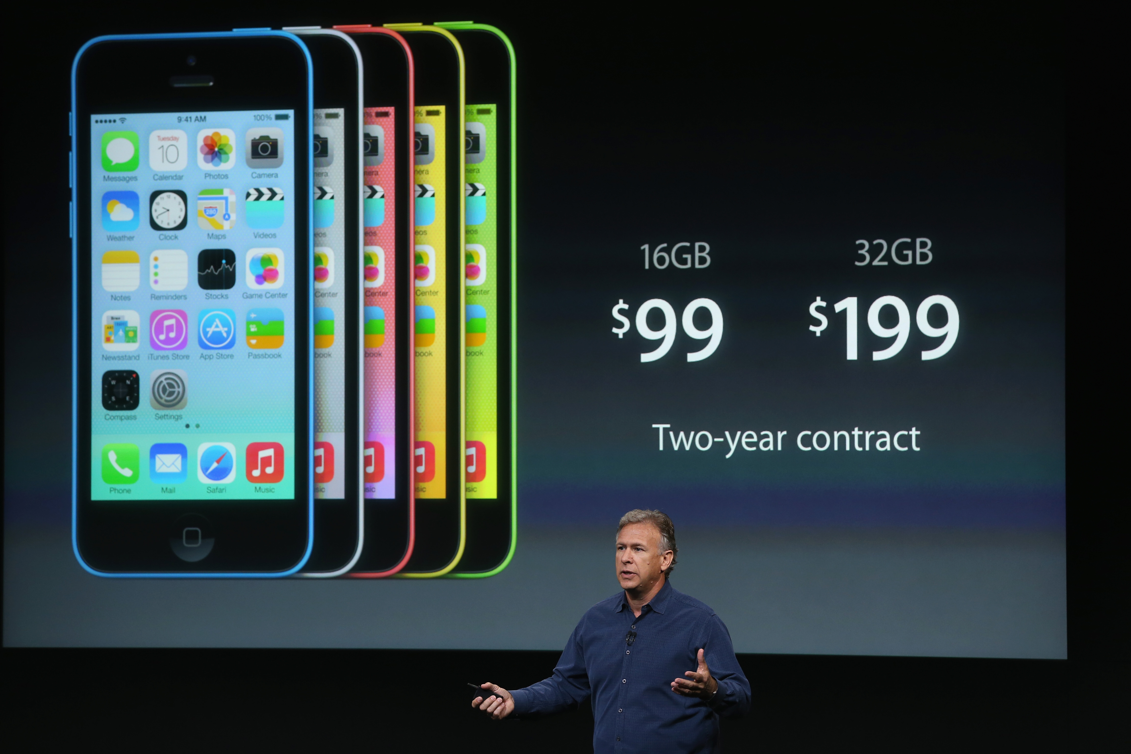 180222598 Apple launches iPhone 5c with 4 inch Retina display