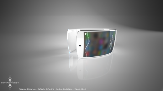 iWatch concept by: Ciccarese Design