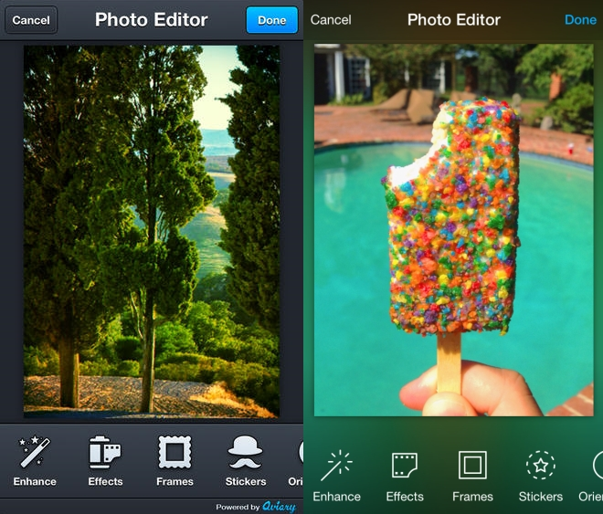 Aviary iOS7 Before and after: The best iOS 7 app redesigns