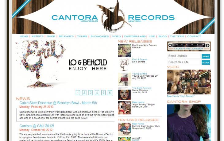 CantoraRecords 730x460 50 New York City startups you need to know about