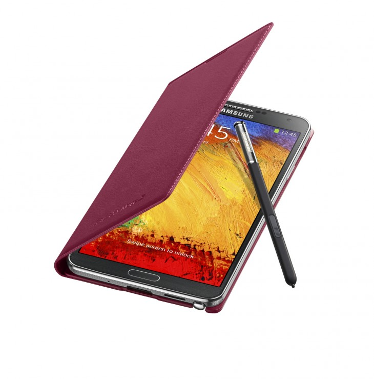 Galaxy Note3 FlipCover 004 Open Pen Plum Magenta 730x739 Samsung has shipped 10 million Galaxy Note 3 devices since its launch 2 months ago
