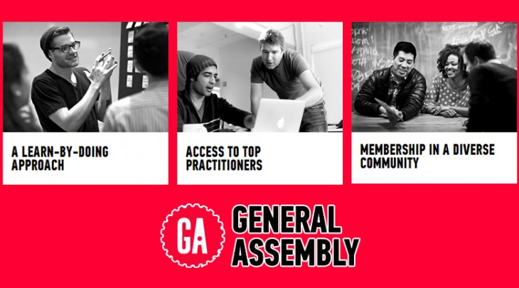 General Assembly 730x405 50 New York City startups you need to know about